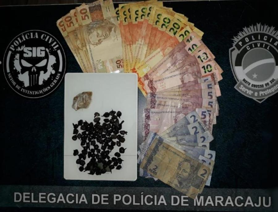 Center maracaju policia civil cumpre mandado de busca e apreensao e fecha ponto de venda de drogas no conjunto ema rigo