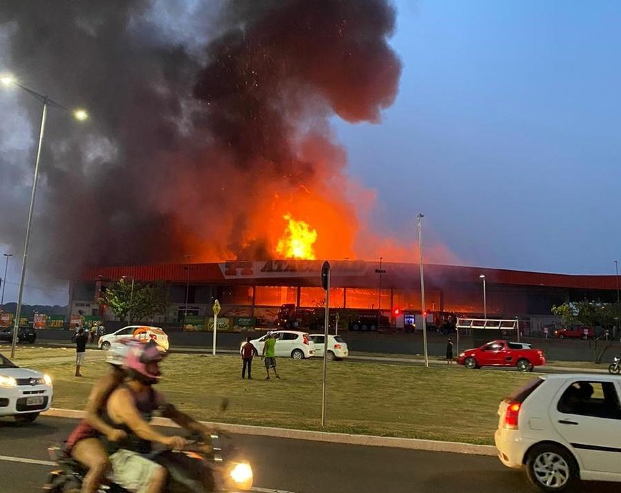 Center incendio