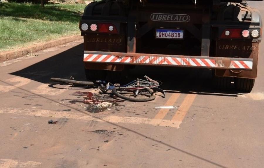 Center maracaju jovem mulher ciclista que se envolveu em acidente com carreta bi trem e encaminhada em estado grave para unidade media da capital 164009 10 1606706858