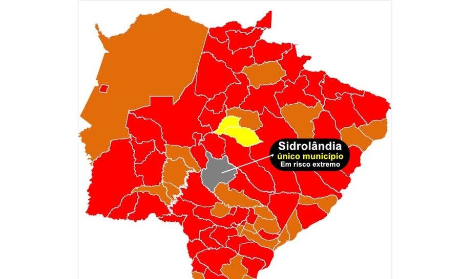 Center sidrolandia bandeira cinza