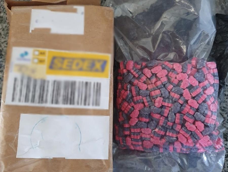 Center drogas correios apreensao